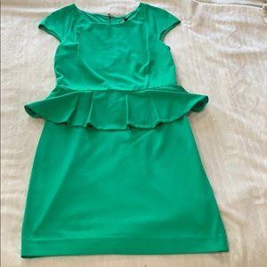 Express peplum style dress